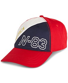 Nautica Men's Blue Sail Cotton Baseball Cap, Created for Macy's