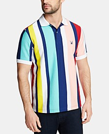 Men's Big & Tall Stripe Polo, Created for Macy's