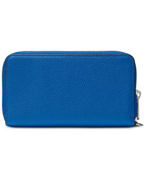 610162ce50e6 Michael Kors Mercer Pebble Leather Multi Function Phone Case ...