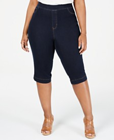 Sound/Style Lucy Plus Size Skimmer Jeans