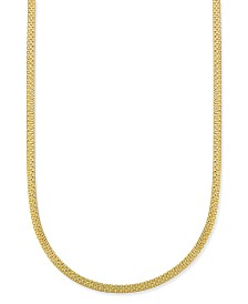 "Giani Bernini Bismark Chain 20"" Necklace in 18k Gold-Plate Over Sterling Silver, Created for Macy's"