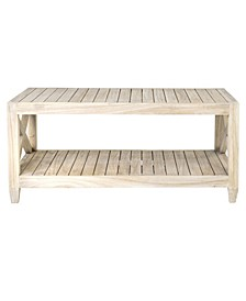 Pavo Mindi Wood Coffee Table