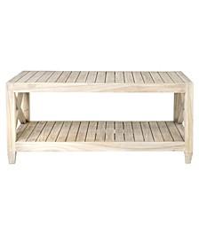 Pavo Mindi Wood Coffee Table