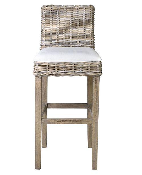 Astonishing Germantown Rattan Barstool Inzonedesignstudio Interior Chair Design Inzonedesignstudiocom