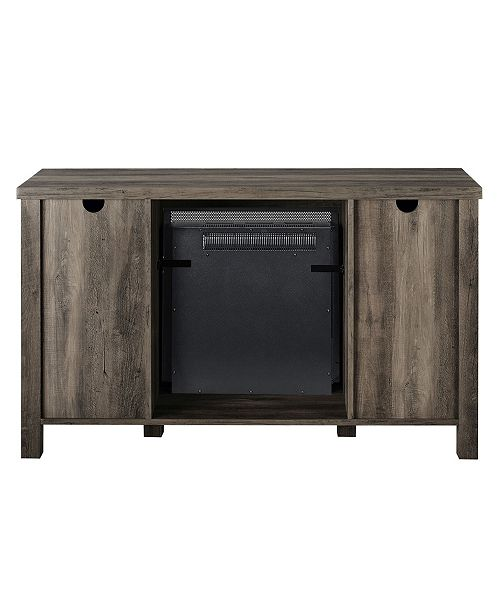 """Walker Edison 48"""" TV Stands with Fireplace"""