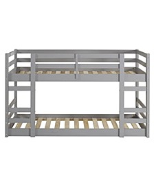 Low Wood Twin Bunk Bed