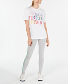 Fila Logo T-Shirt & Leggings