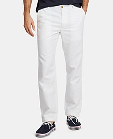 Men's Classic-Fit Linen-Blend Pants
