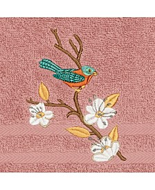 Turkish Cotton Springtime Embellished Hand Towel