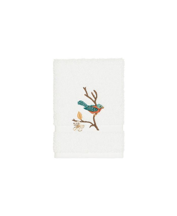 Linum Home - Turkish Cotton Springtime Embellished Washcloth