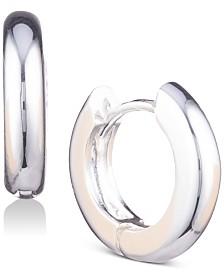 Anne Klein Huggie Hoop Earrings