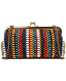 Bead Potenaz Leather Clutch