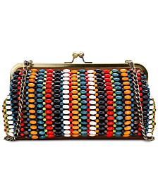 Patricia Nash Bead Potenaz Leather Clutch