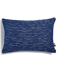 "Leilani Woven Slub 12"" X 18"" Decorative Pillow"