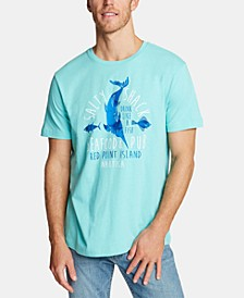 Men's Salty Shack Cotton Graphic T-Shirt, Created for Macy's