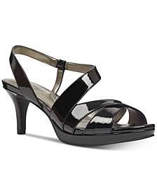 Kenosha Slingback Platform Dress Sandals