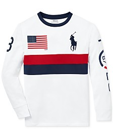 Polo Ralph Lauren Big Boys Performance Graphic T-Shirt