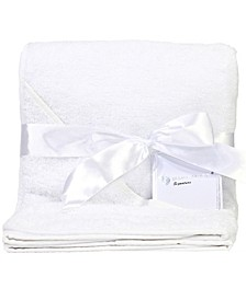 3 Stories Trading Terry Cloth Hooded Baby Bath Towel