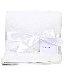 3Stories Baby Mode Signature Terry Cloth Hooded Baby Bath Towel