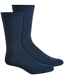 Men's Textured Stripes Socks