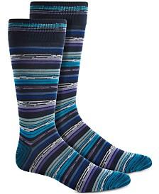 Perry Ellis Men's Space-Dyed Socks