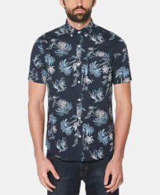 Original Penguin Men's Tropical Trees Graphic Shirt