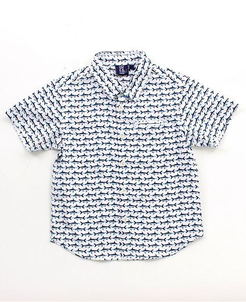Bear Camp Baby Boy Printed Button Down Shirt