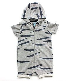 Baby Boy Romper and Tee 2 Piece Set