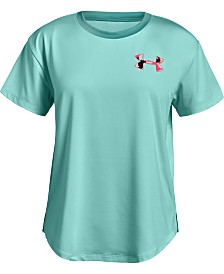 Under Armour Girls' HeatGear® Armour Short Sleeve