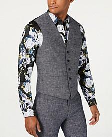 INC Men's Slim-Fit Linen Vest, Created for Macy's