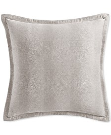 Sleep Luxe Cotton 800-Thread Count Printed Pebble European Sham, Created for Macy's