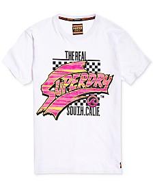Superdry Men's Acid Textured Logo Graphic T-Shirt