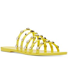 Nine West Women's Cariana Studded Sandals