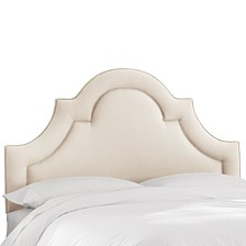 Whim Collection Salena Queen Arched Headboard, Quick Ship, Created for Macy's