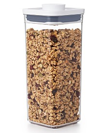 Pop Small Square Medium Food Storage Container