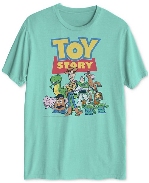 Hybrid Disney Toy Story Classic Men's Graphic T-Shirt
