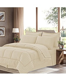 Dobby Embossed King 8-Pc Comforter Set