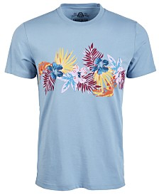 American Rag Men's Floral Chest T-Shirt, Created for Macy's
