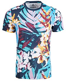 American Rag Men's Modern Foliage T-Shirt, Created for Macy's