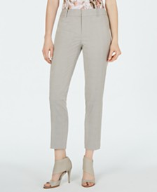 Calvin Klein Petite Cropped Slim-Fit Pants