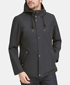 Cole Haan Men's Water-Resistant Rain Coat