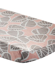 Calypso Leaf Print Baby Changing Pad Cover