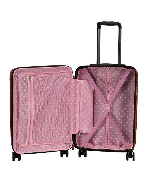34a27b87e497 Pista 3 Piece ABS Non-Expandable Luggage Set