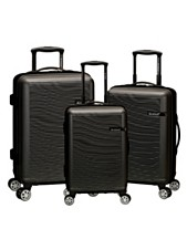 798c595a7 Rockland Skyline 3 Piece ABS Non-Expandable Luggage Set