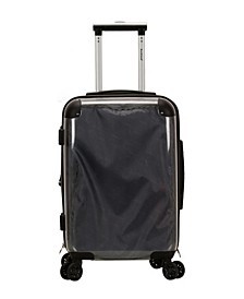 "20"" Transparent Hardside Carry-On Spinner"