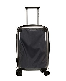 "Rockland 20"" Transparent Hardside Carry On Spinner"