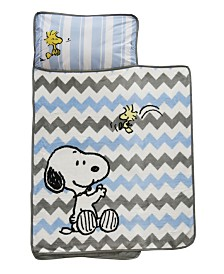 Lambs & Ivy My Little Snoopy™ Chevron Toddler Nap Mat
