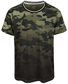 Ideology Big Boys Camo-Print T-Shirt, Created for Macy's