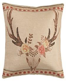 Burlap 22X22 Pillow