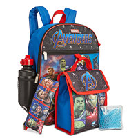 Deals on Bioworld Little & Big Boys Avengers Backpack & Lunch Kit set